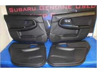 Subaru WRX 2002-2004 interior door panels, Puerto Rico
