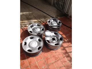 Tengo 5 aros de Ford F150 6 rotos , Puerto Rico