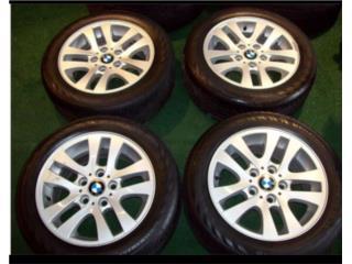 Aros BMW Serie 3 Nuevos Con Gomas, Puerto Rico