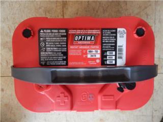 Bateria Gel Optima RED 34/78 1,000AMP, Puerto Rico