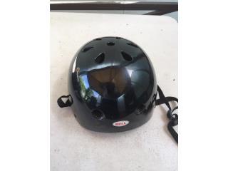 Casco de Motora Bell Zephyr Negro DOT XL, Puerto Rico