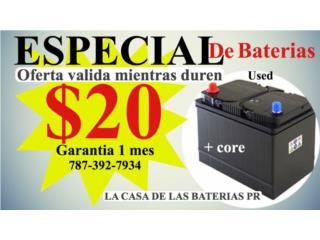 BATERIA $20, Puerto Rico