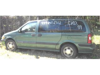 Transmisión Chevrolet Venture 1999 rebuild, Puerto Rico