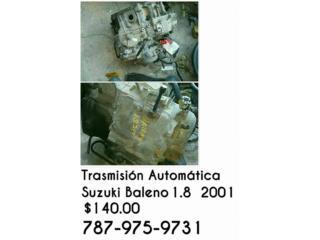 TRASMISION DE SUZUKI BALENO 2001 AUTO, Puerto Rico
