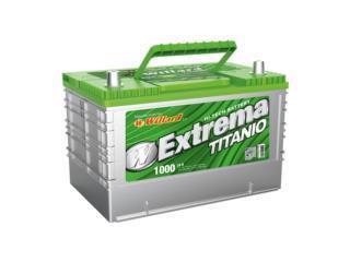 Bateria 1000 Amps $75 30 Meses de Garantia, Puerto Rico