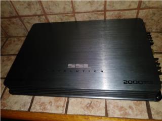 Amplificador (planta) SSL 2000 evolution, Puerto Rico