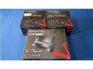 Kenwood Monoblock Amplifier + Subwoofers, Puerto Rico