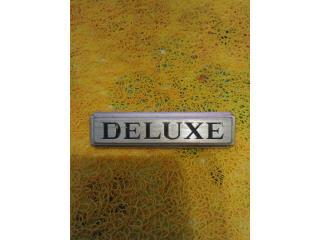 Emblema de Datsun 1200 Deluxe., Puerto Rico