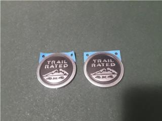 JEEP Trail Rated Emblem, Puerto Rico
