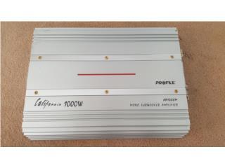 Amplificador 1,000W Sub, Puerto Rico