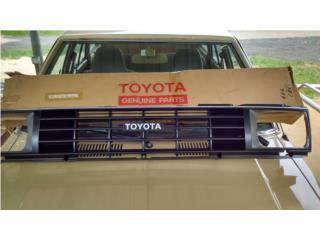 Variedad en parillas Toyota datsun, Puerto Rico