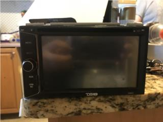 Radio Touch Screen DS18 6.2', Puerto Rico