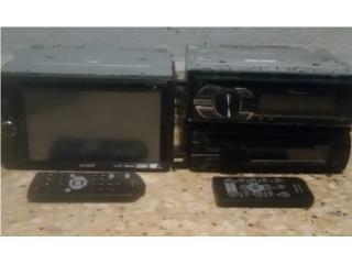Radios monitor Sony usb aux y pioneer y Sony , Puerto Rico