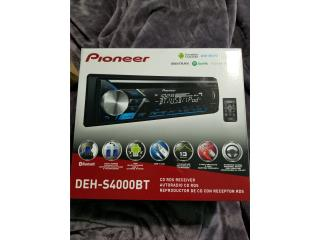 Pioneer CD USB MP3 WMA Bluetooth Coche Radio, Puerto Rico