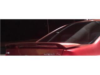 Spoiler del baul Corolla Type S 03-08, Puerto Rico