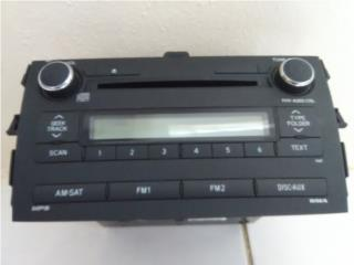 Radio Toyota Corolla 2010-12, Puerto Rico