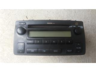 Radio toyota corolla 03 08, Puerto Rico