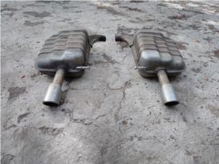 Resonadores Original Audi A4 02-05, Puerto Rico