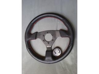 SPARCO- guia en piel/leather steering wheel, Puerto Rico