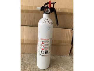 Extintor Marino Clase D, Puerto Rico