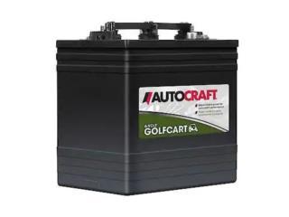 AutoCraft Golf Cart Batería, Puerto Rico