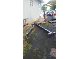 Máquina de enderezar chasis tipo L, Puerto Rico