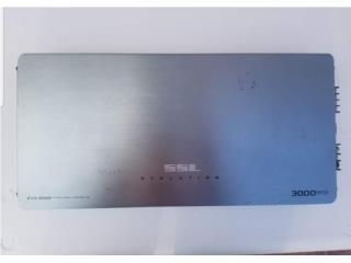 Amplificador 3mil Watts 2ch, Puerto Rico