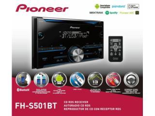 radio Pioneer 2 Din (Nuevo), Puerto Rico
