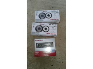 Radio cd pioneer con 4 bocinas 6.5