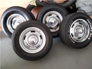 Rally wheel y gomas 15