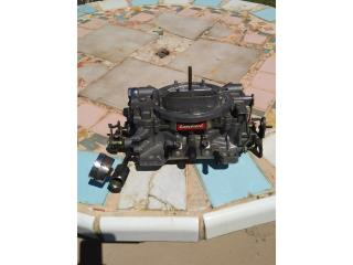 Carburador Edelbrock 650cfm, Puerto Rico