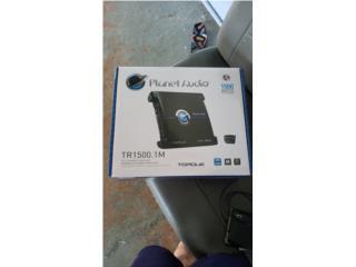 Planet audio 1500w en caja, Puerto Rico