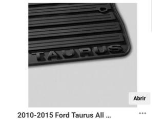 Alfombras en goma Ford taurus  2010 al 2015, Puerto Rico