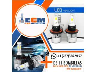 Kits de luces LED nuevos 1 año de garantia, Puerto Rico