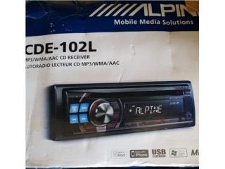 RADIO ALPINE Y 2 SETS DE BOC INFINITI $180, Puerto Rico