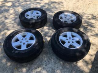 "4 aros de 17"" oem Jeep Wrangler , Puerto Rico"