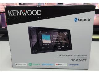 Radio double din kenwood receiver nuevo , Puerto Rico