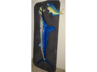 BIG and SMALL fish for decoration, Puerto Rico