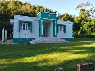 Preciosa casa recién pintada