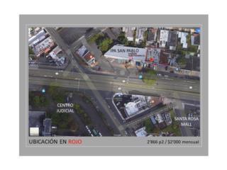 Alquiler Urbanizacion Santa Cruz ALQUILER LOCAL -BAYAMON -2'866p2 -SOLO $2,000 Bayamón