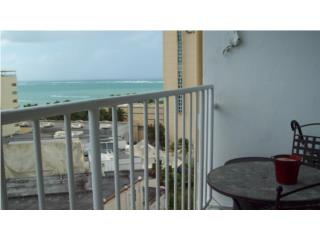 Studio with ocean view, pkg, furnished