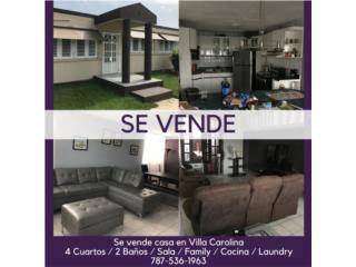 Casa en Villa Carolina 4 Cuartos / 2 baños