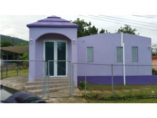 Casa con mil m/c de terreno 3 cuartos 2 baños