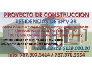 NUEVO PROYECTO DE CONSTRUCCIÓN