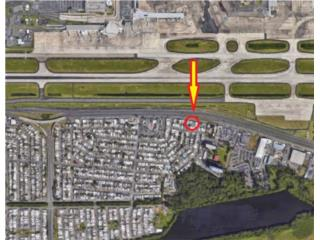 Commercial 830 sq. mt. in front of airport