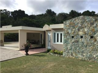 Casa con sistema de energia solar