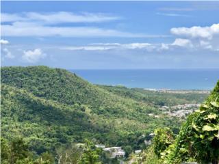 Vista panorámica montañas,Culebra y El Yunque