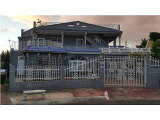 Casa 2 plantas, Caguas, 4 cuartos, 3 baños