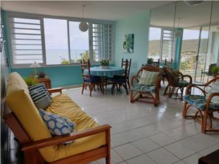 Apartamento amueblado, vista al mar