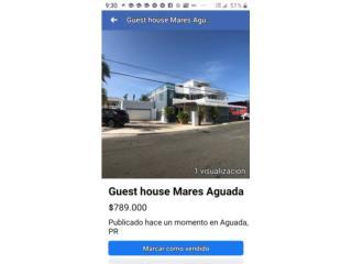 Venta Guest house Mares Aguada
